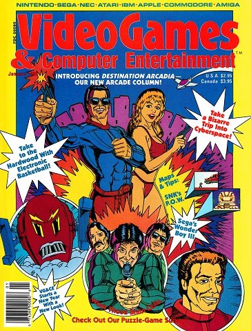 Video Games & Computer Entertainment Issue 12 (January 1990)