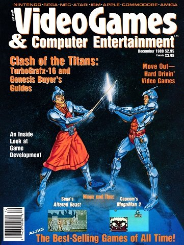 Video Games & Computer Entertainment Issue 11 (December 1989)