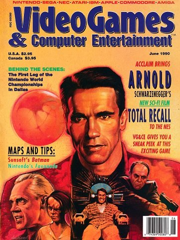 Video Games & Computer Entertainment Issue 17 (June 1990)