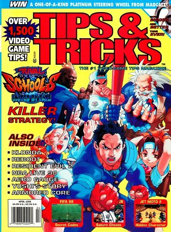 Tips & Tricks Issue 038 (April 1998)