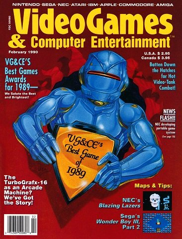 Video Games & Computer Entertainment Issue 13 (February 1990)