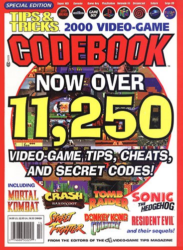 Tips & Tricks 2000 Video-Game Codebook
