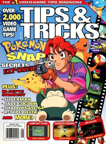 Tips & Tricks Issue 054 (August 1999)