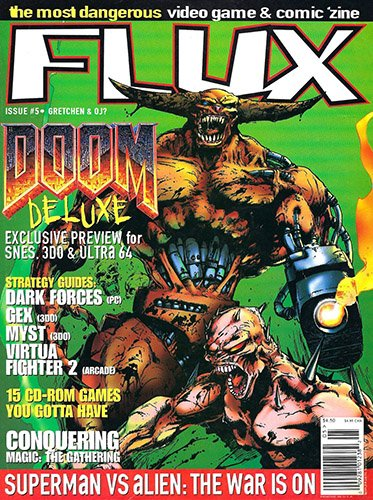 Flux Issue 5 (July 1995)