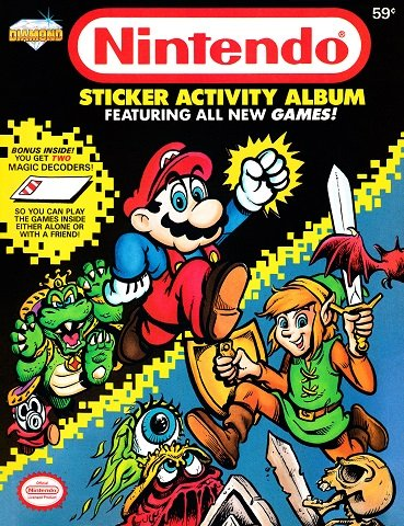 Nintendo Sticker Activity Album