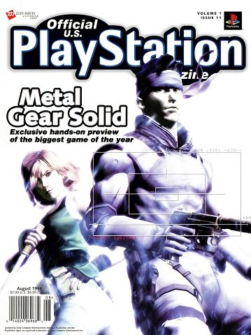 Official U.S. PlayStation Magazine Issue 011 (August 1998)