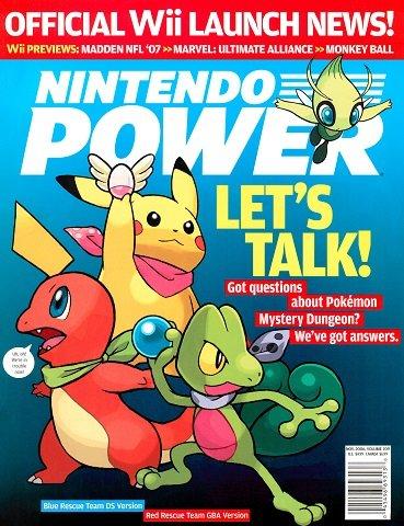 Nintendo Power Issue 209 (November 2006)