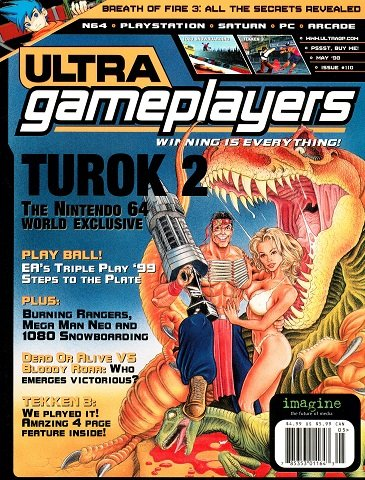 Ultra Game Players Issue 110 (May 1998)
