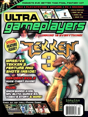 Ultra Game Players Issue 108 (March 1998)