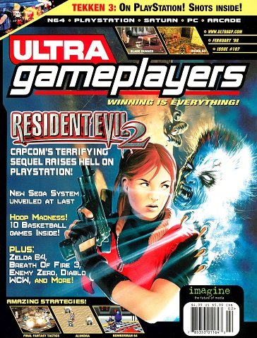 Ultra Game Players Issue 107 (February 1998)