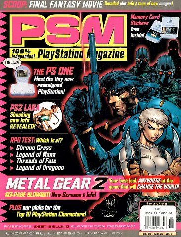PSM Issue 036 (August 2000)