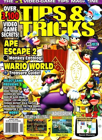 Tips & Tricks Issue 102 (August 2003)