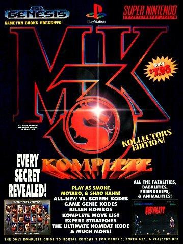GameFan Books Mortal Kombat 3 Komplete