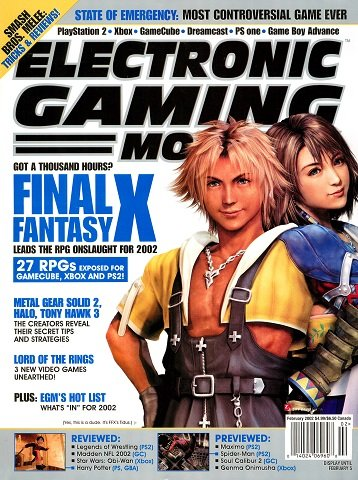 Electronic Gaming Monthly Issue 151 (February 2002)