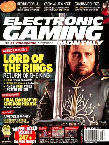 Electronic Gaming Monthly Issue 173 (December 2003)