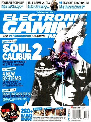 Electronic Gaming Monthly Issue 170 (September 2003)