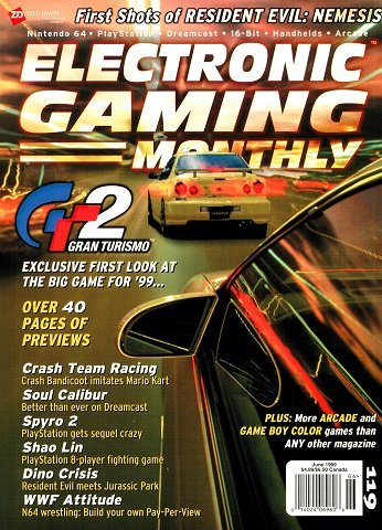 Electronic Gaming Monthly Issue 119 (June 1999)