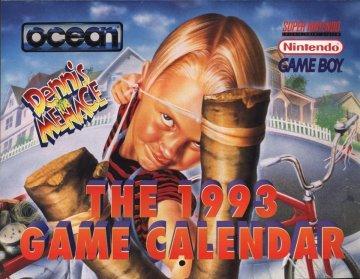 Ocean 1993 Game Calendar