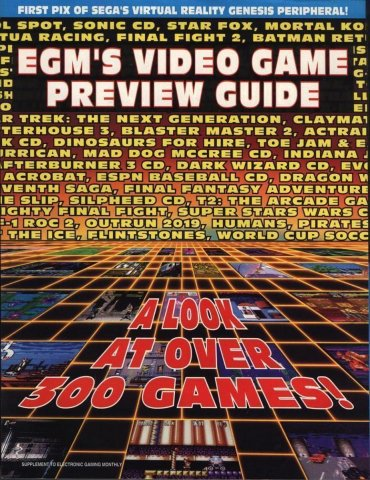 Video Game Preview Guide (1993)