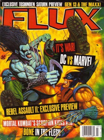 Flux Issue 07 (January 1996)