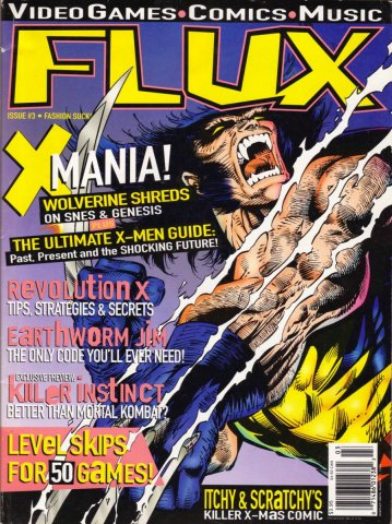 Flux Issue 03 (January 1995)