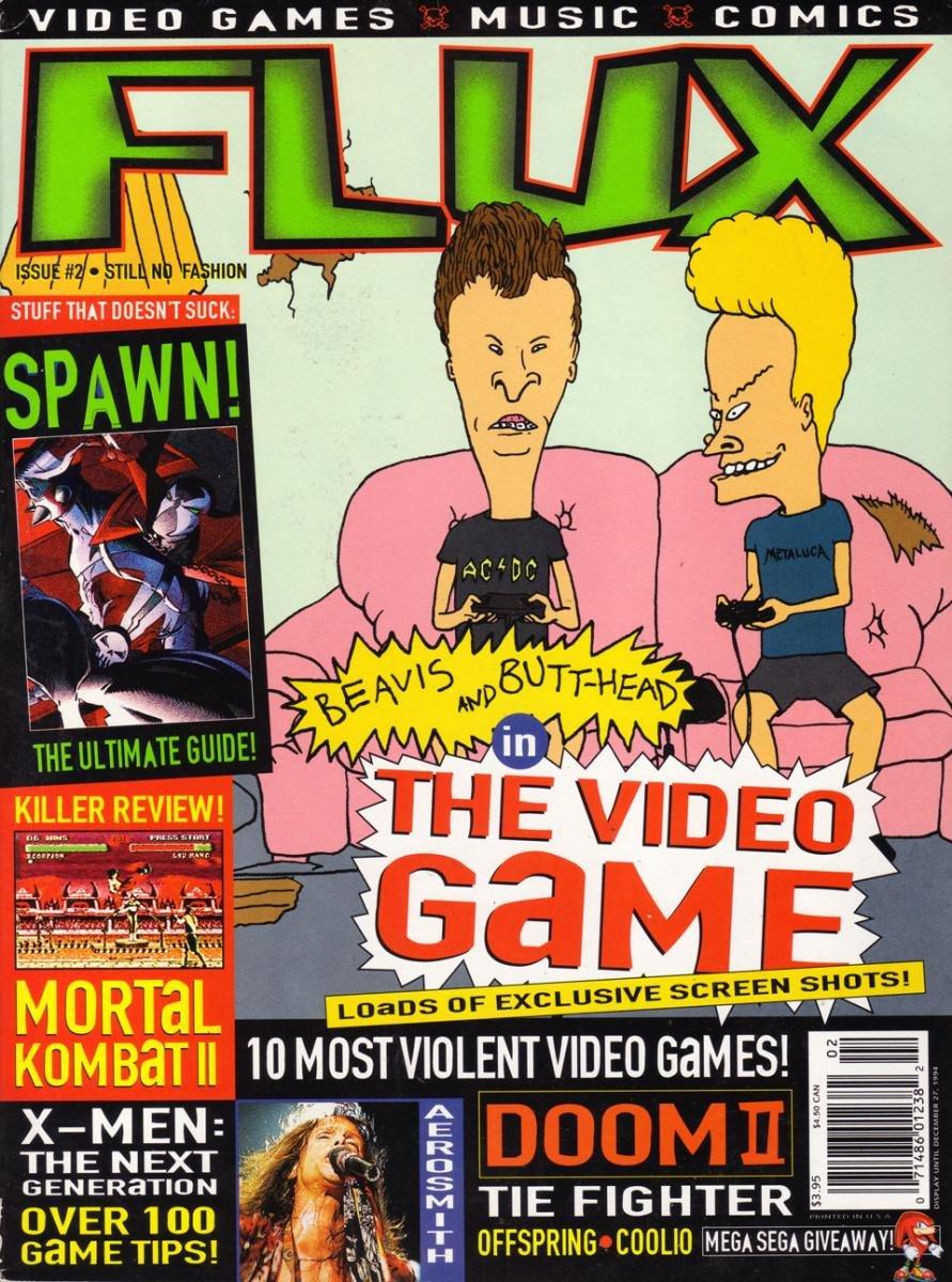Flux Issue 02 (October 1994)