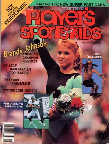 Game Players Sports for Kids Issue 1