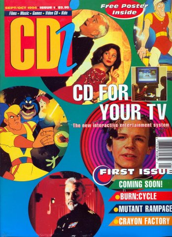 CDi (USA) Issue 01 (September / October 1994)