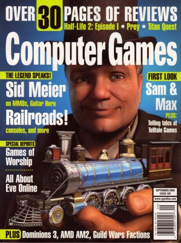 Computer Games Issue 189 (September 2006)