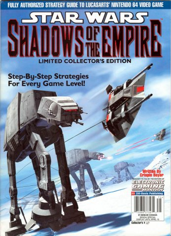 Star Wars Shadows of the Empire Strategy Guide