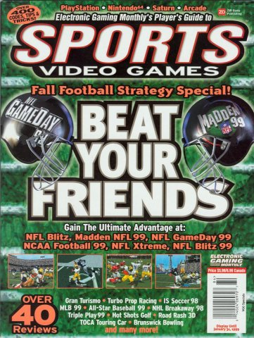 EGM's Guide to Sports Video Games (1999)