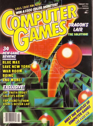 Computer Games Issue 005 (February 1984)