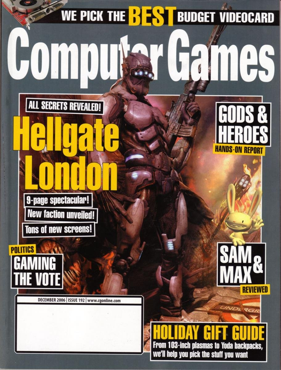 Computer Games Issue 192 (December 2006)