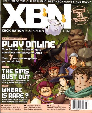 XBox Nation 10 (October/November 2003) *cover 1*