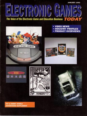 Electronic Games Today (January 1992)