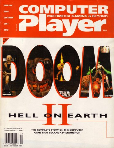 Computer Player Vol.1 Issue 05 (October 1994)