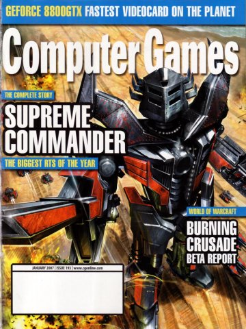 Computer Games Issue 193 (January 2007)