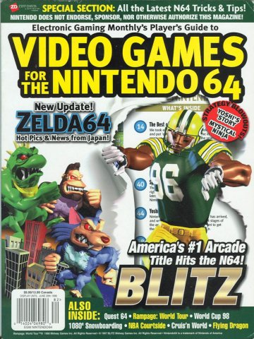 EGM's Player's Guide to Video Games for the Nintendo64
