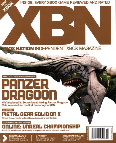 XBox Nation 03 (Summer 2002) *cover 2*