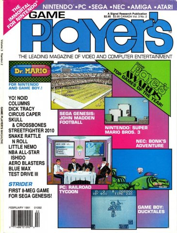 Game Player's Issue 020 February 1991