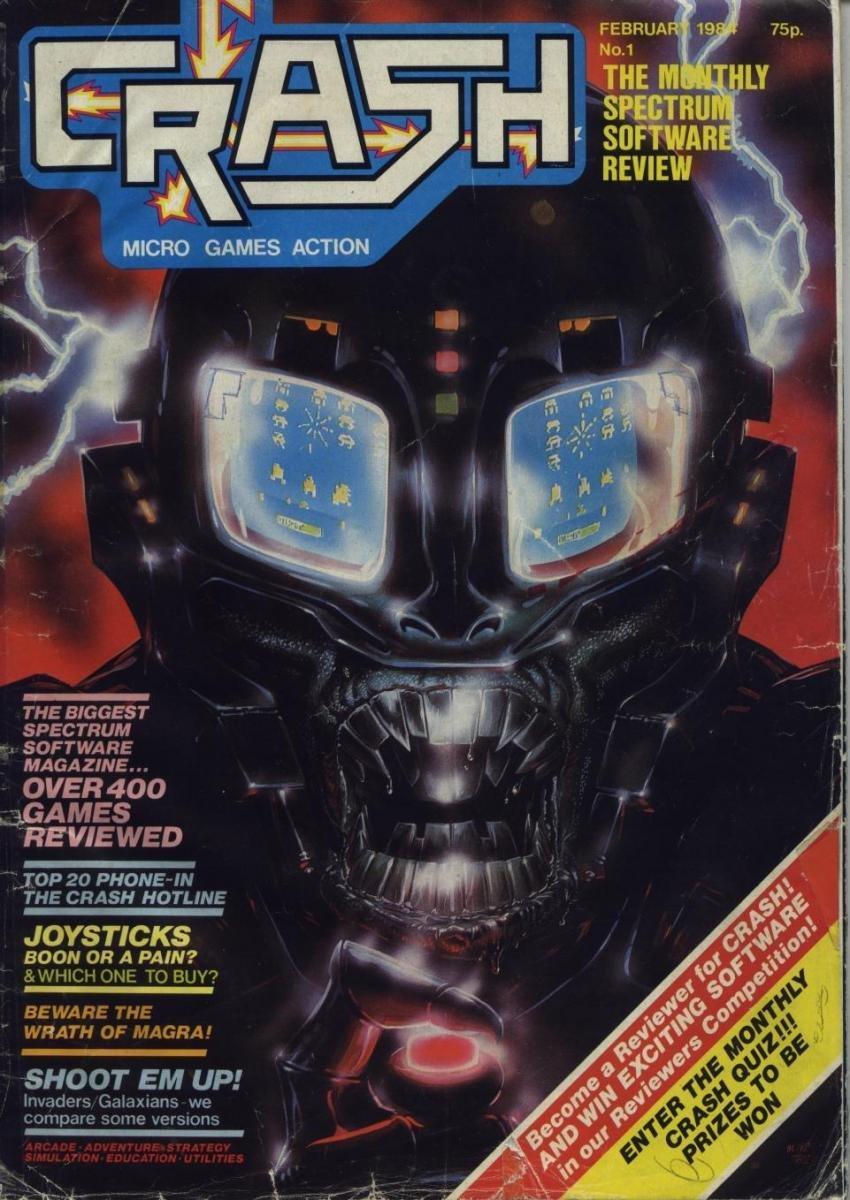 Crash 01 (February 1984)