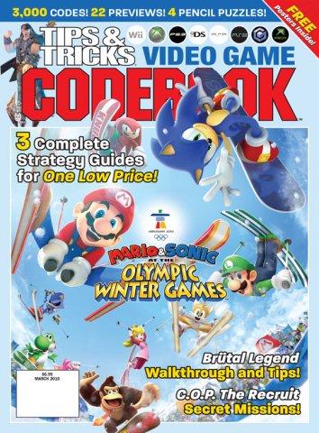Tips & Tricks Video Game Codebook March 2010