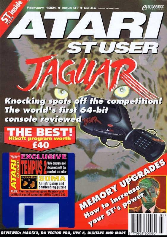 Atari ST User Issue 97 (February 1994)