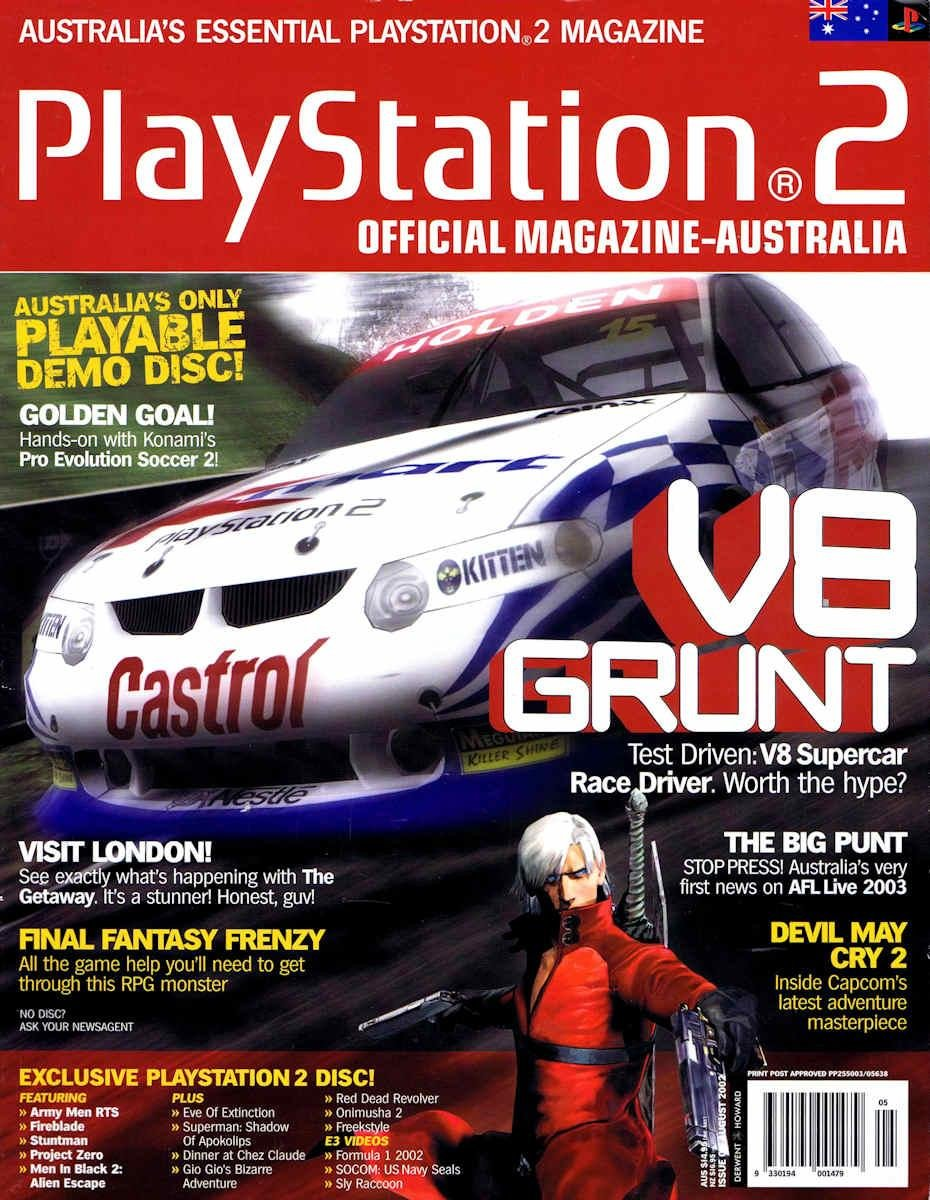 Playstation 2 Official Magazine (AUS) Issue 05 (August 2002)