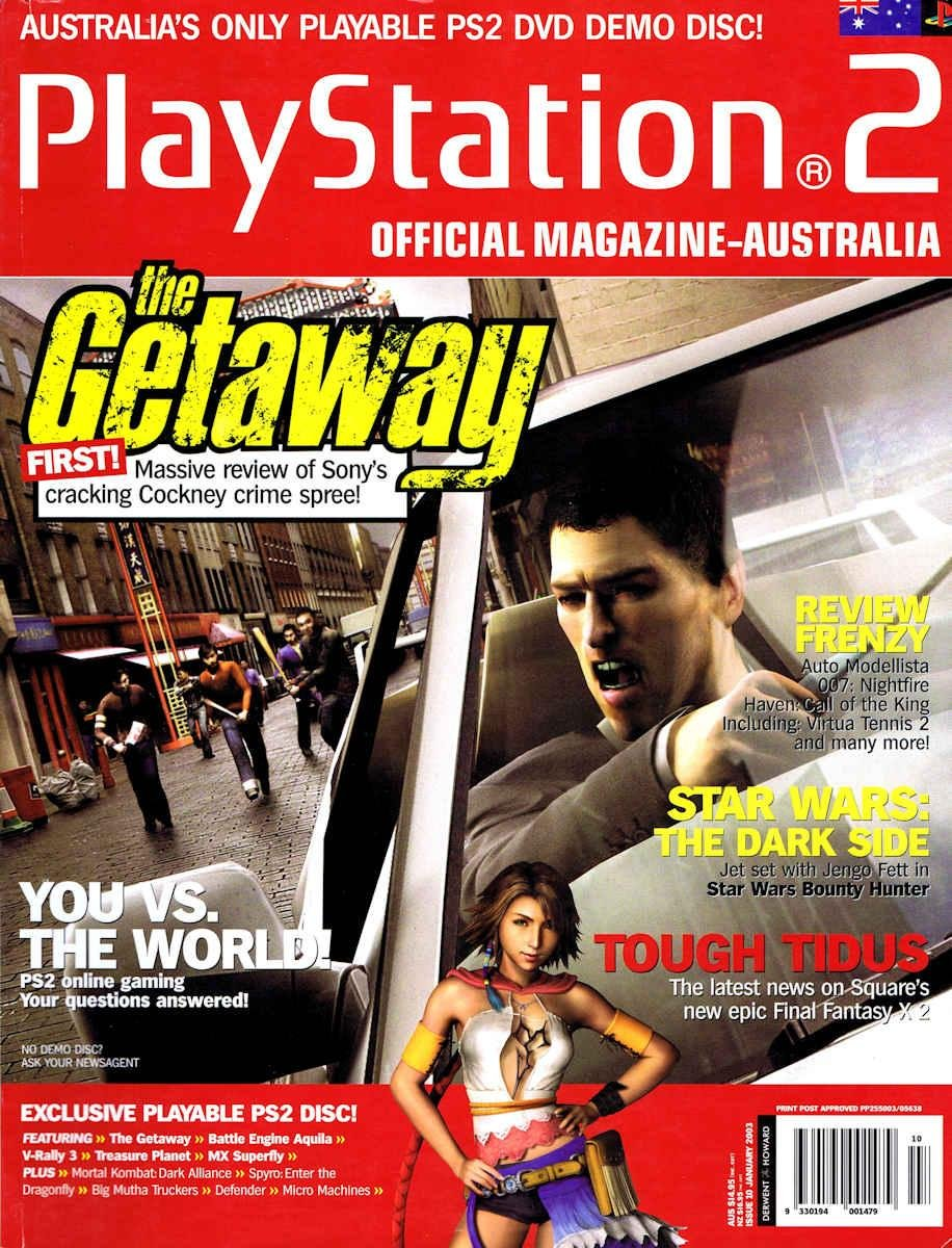 Playstation 2 Official Magazine (AUS) Issue 10 (January 2003)