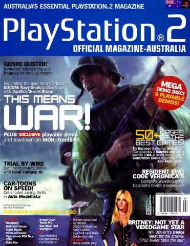Playstation 2 Official Magazine (AUS) Issue 03 (June 2002)