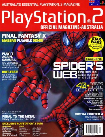 Playstation 2 Official Magazine (AUS) Issue 02 (May 2002)
