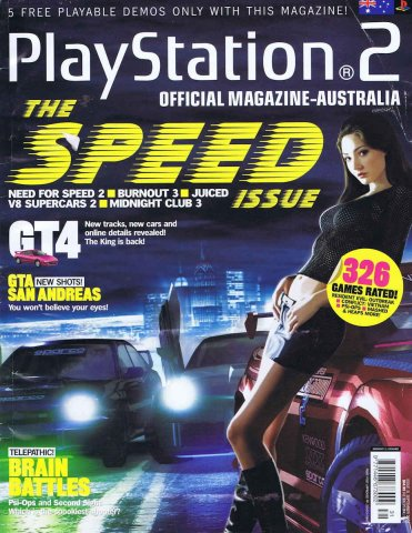 Playstation 2 Official Magazine (AUS) Issue 31 (September 2004)