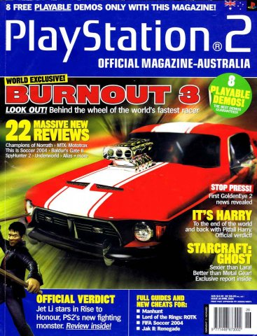 Playstation 2 Official Magazine (AUS) Issue 26 (April 2004)
