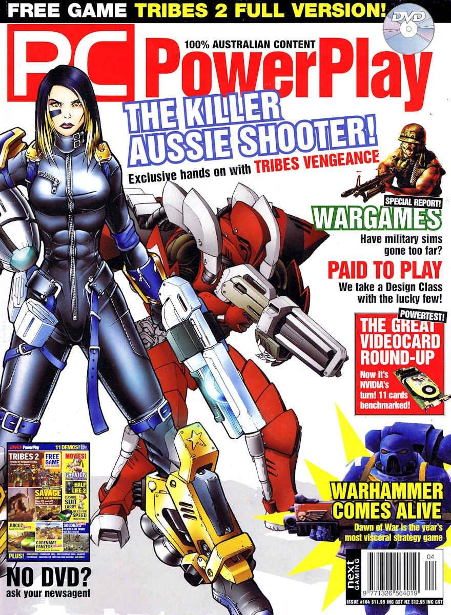 PC PowerPlay 104 (October 2004)